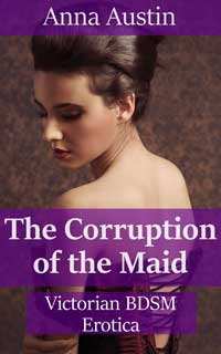cover design for the book entitled The Corruption of the Maid