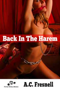 cover design for the book entitled Back In The Harem