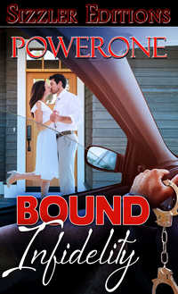 cover design for the book entitled Bound Infidelity
