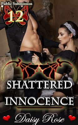 cover design for the book entitled Shattered Innocence