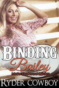cover design for the book entitled Binding Bailey