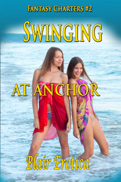 cover design for the book entitled Swinging At Anchor