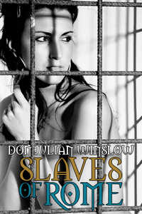 cover design for the book entitled Slaves of Rome