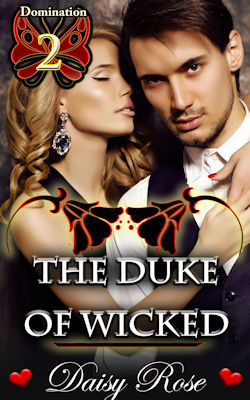 cover design for the book entitled The Duke of Wicked