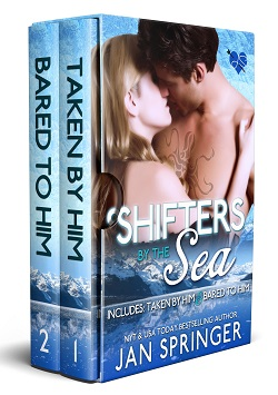 cover design for the book entitled Shifters by the Sea