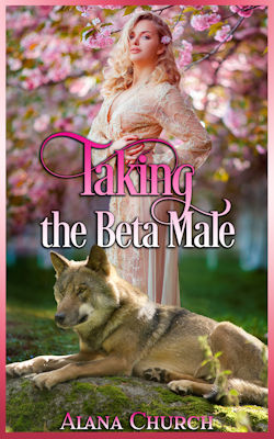 cover design for the book entitled Taking The Beta Male
