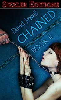 cover design for the book entitled Chained! Book 2
