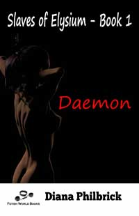 cover design for the book entitled Daemon