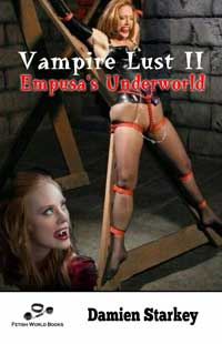 cover design for the book entitled Vampire Lust II