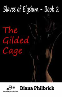 cover design for the book entitled The Gilded Cage