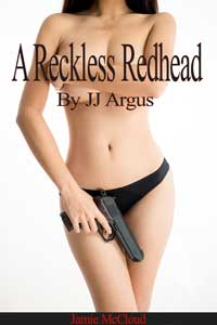 cover design for the book entitled A Reckless Redhead