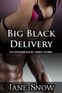 Big Black Delivery (Interracial Black MM/White F Erotica)