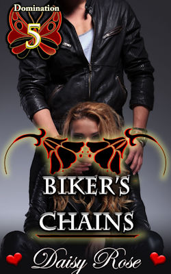 cover design for the book entitled Biker