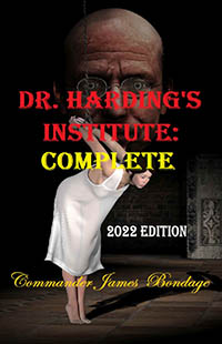 cover design for the book entitled Dr. Harding