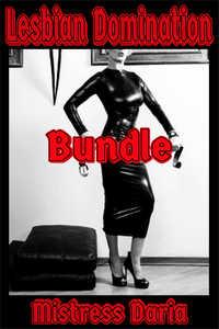 cover design for the book entitled Lesbian Domination Bundle
