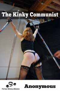 cover design for the book entitled The Kinky Communist