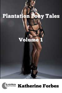 cover design for the book entitled Plantation Pony Tales