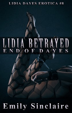 cover design for the book entitled Lidia Betrayed