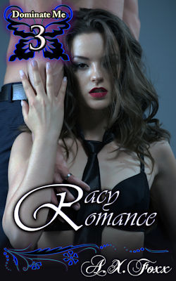 cover design for the book entitled Racy Romance