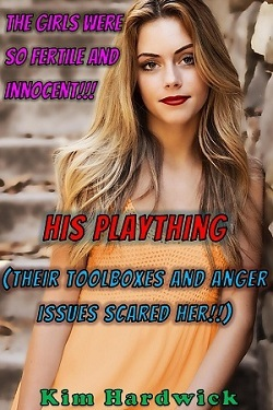cover design for the book entitled His Plaything