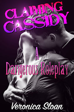 cover design for the book entitled Claiming Cassidy