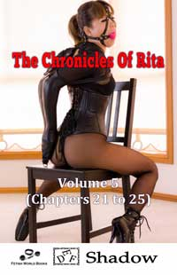 cover design for the book entitled The Chronicles of Rita - Volume 5
