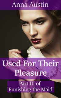 cover design for the book entitled Used For Their Pleasure
