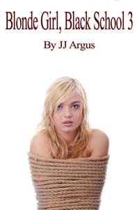 cover design for the book entitled Blonde Girl, Black School 3