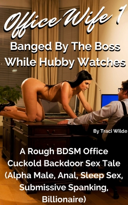 Office Wife 1: Banged By The Boss While Hubby Watches