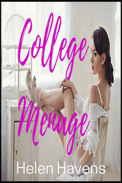 cover design for the book entitled College Menage