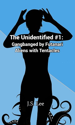 cover design for the book entitled The Unidentified (Book 1)