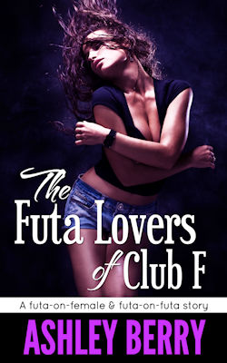 cover design for the book entitled The Futa Lovers of Club F