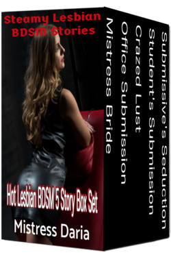 cover design for the book entitled Steamy Lesbian BDSM Stories