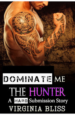 cover design for the book entitled The Hunter