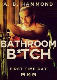 cover design for the book entitled Bathroom Bitch