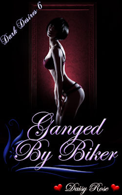 cover design for the book entitled Ganged By Bikers