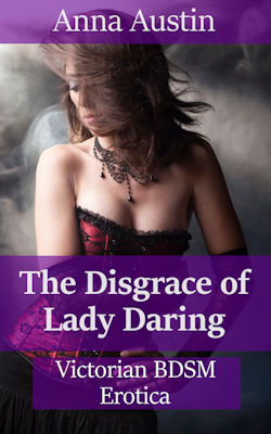 cover design for the book entitled The Disgrace of Lady Daring