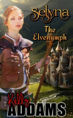 cover design for the book entitled Selyna The Elvenymph