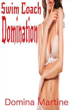 cover design for the book entitled Swim Coach Domination