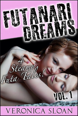 cover design for the book entitled Futanari Dreams