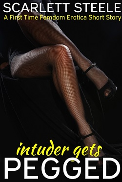 Intruder Gets Pegged - A First Time Femdom Erotica Short Story