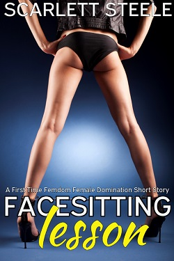 cover design for the book entitled Facesitting Lesson
