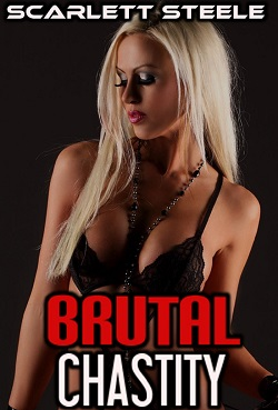 cover design for the book entitled Brutal Chastity