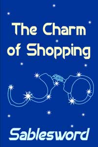 cover design for the book entitled The Charm of Shopping