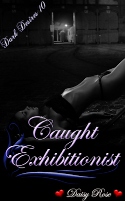 cover design for the book entitled Caught Exhibitionist
