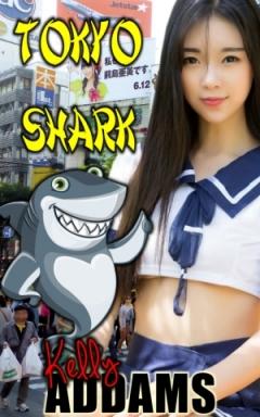 cover design for the book entitled Tokyo Shark