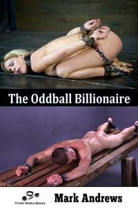cover design for the book entitled The Oddball Billionaire