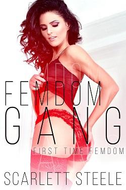 cover design for the book entitled Femdom Gang