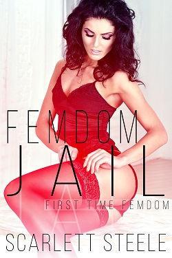 cover design for the book entitled Femdom Jail
