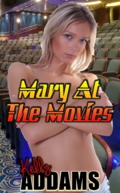 cover design for the book entitled Mary At The Movies
